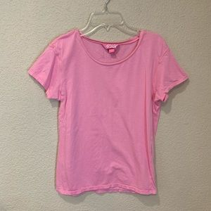 PINK Victoria's Secret scoop neck shirt sleeve T-s